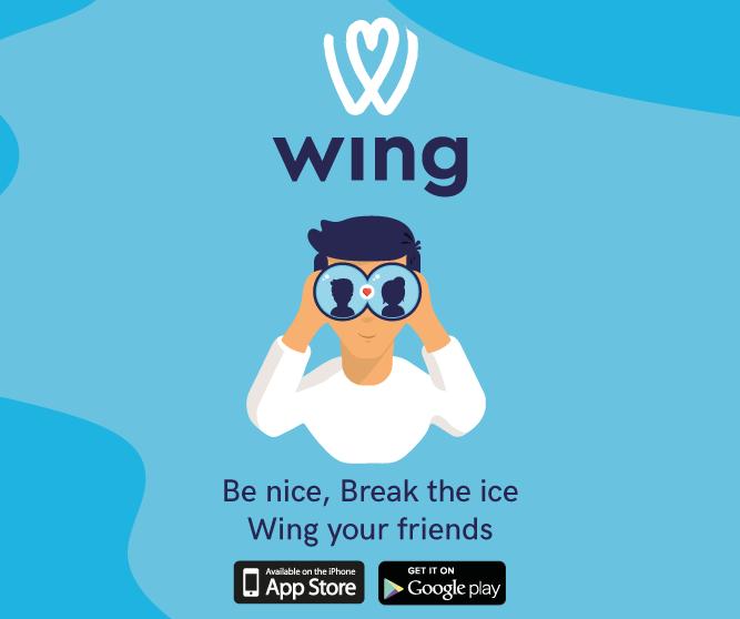 WING: Be nice, break the ice